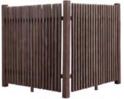 Cache conteneur en plastique recyclé hauteur 100 à 180 cm - Hauteur (cm) : de 100 à 180