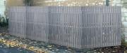 Cache conteneur recyclable - Palissade décorative 100% écologique et recyclable