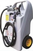Caddy ravitailleur fuel mobile manuel 60L - Ravitaillement en faible quantité - Débit : 0.25 L