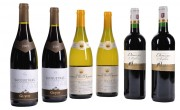 Cadeau d'affaire de 6 bouteilles de vin - 4 bouteilles vin rouge - 2 bouteilles vin blanc