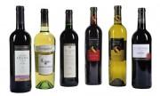Cadeau d'affaire de 6 bouteilles de vin du monde - 6 bouteilles de 6 pays différents