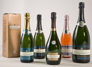 Cadeau d'entreprise en bouteille de champagne - 4 bouteilles de champagne - un magnum