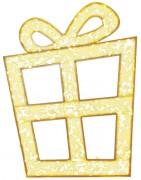 Cadeau lumineux avec ruban 2D LED - Eclairage LED - Dimensions : 200 x 160 cm