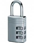 Cadenas à combinaison pour casier - 3 molettes
