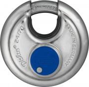 Cadenas haute sécurité inox anti-corrosion pour porte - Dimensions: 50, 60, 70 mm