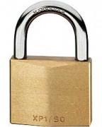 Cadenas sécurité multi usage en laiton - Cylindre de précision à goupilles