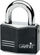 Cadenas sécurité pour porte diamètre anse 11 mm - Cylindre de précision à 5 goupilles