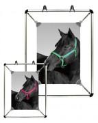Cadre d'affichage avec clips - Tailles images :  A0 - A1 - A2 - A3 - A4