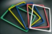 Cadre d'affichage standard en plastique ABS - Dimensions (Lxh) : 105x148 - 148x210 - 210x297 - 297x420 mm
