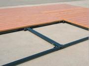 Cadre pour plancher - Dimensions panneaux: 1 x 1m  -  Epaisseur : 22 mm