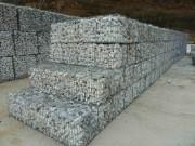 Cage à gabion pré remplie - Densité : 1.7 t/m3 - Granulométrie de 80/120 mm