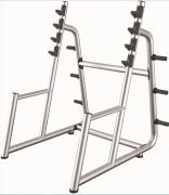 Cage à squat - Dimensions L x l x H : 1490 x 1520 x 1750 mm