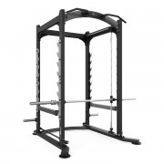 Cage à Squat 3D - Mesures : 150 x 177 x 232 cm