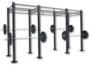 Cage cross training - Dimensions L x l x H : 4050 x 1200 x 2750 mm