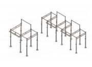 Cage crossfit de musculation - Workout  Intérieur - Extérieur