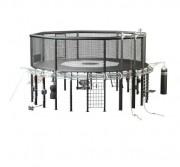 Cage crossfit MMA musculation et arts martiaux - Machine de musculation flexible avec crochets réglables