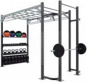 Cage d'entrainement crossfit - Dimensions L x l x H : 3000 x 1800 x 2750 mm