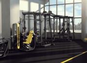 Cage de cross training double rack pour salle de musculation - Machine musculation en acier trempé haute-résistance
