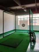 Cage de golf d'entraînement - Cage de golf avec structure et filet - Dimensions: 3x3x3 m