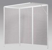 Cage de pouliethérapie - Dimensions (L x l x H)  : 2 x 1 x 2 m