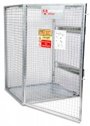 Cage gaz pliable TuffCage - Dimensions :  1300 x 1240 x 1800 mm