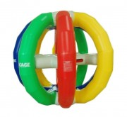 Cage gonflable ronde