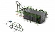 Cage musculation crossfit container - Power Rack embarqué dans conteneur pour entraînement