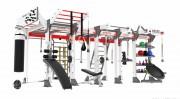 Cage musculation et cross training multi-usages - Cage crossfit pour fitness et renforcement musculaire