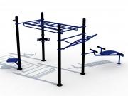 Cage musculation extérieure - Une cage de musculation extérieur professionnelle à petit prix