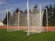 Cage pour lancer disque d'athlètisme - Hauteur 4m50