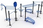 Cage pour musculation extérieur - Cage de crossfit outdoor en acier inoxydable
