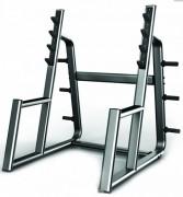 Cage squat - 4 niveaux de repose barre