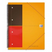Cahier bureau reliure intégrale 160 pages réglure 5x5 format 21x29,7cm MEETING BOOK OFFICE - oxford