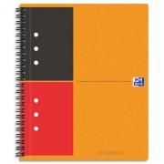 Cahier bureau reliure intégrale 160p réglure ligné 6mm format 14,8x21cm ACTIVE BOOK OFFICE - oxford