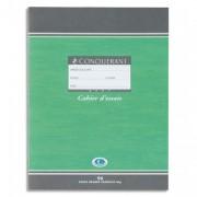 Cahier d'essais 17x22 cm 96 pages grands carreaux papier 60g NF 34 CONQUERANT SEPT - Conquerant Sept