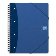 Cahier MEETING BOOK reliure intégrale couv soupe A4+ 180 pages réglure lignée 7mm - oxford