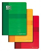 Cahier reliure brochure 17x22 cm 192 pages grands carreaux papier 90g SUPER CONQUERANT - Oxford Classique