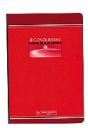 Cahier reliure brochure 21x29,7 cm 192 pages petits carreaux papier 70g CONQUERANT SEPT - CONQUERANT 7