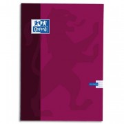 Cahier reliure brochure 24x32 cm 192 pages grands carreaux papier 90g SUPER CONQUERANT - Oxford Classique
