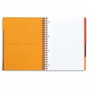 Cahier reliure intégrale 23,3 x 29,8 cm 200 pages détachables SEYES papier 90g SUPER CONQUERANT - oxford