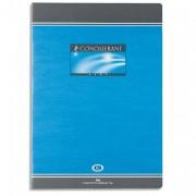 Cahier reliure piqûre 17x22 cm 96 pages petits carreaux papier 70g NF 14 CONQUERANT SEPT - Conquerant Sept