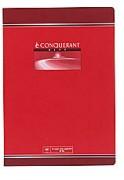 Cahier reliure piqûre 24x32 cm 96 pages petits carreaux papier 70g CONQUERANT SEPT - Conquerant Sept