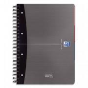 Cahier reliure spirale 24,5 x 31,5 cm 240 pages petits carreaux couverture rigide OFFICE - oxford