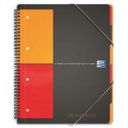 Cahier trieur reliure intégrale couv PP A4+ 180 pages réglure 5x5 - oxford