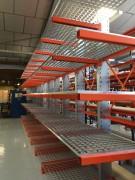 Caillebotis en acier pour rack - Pour charges importantes réparties et ponctuelles