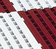 Caillebotis industrie dalles rigides - Caillebotis plastique -