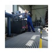 Caillebotis industriel écologique - Epaisseur : 18 mm