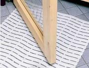 Caillebotis plastique antidérapant - Dimensions : 60 cm x 90 cm / x max.1500cm - Epaisseur 9 mm