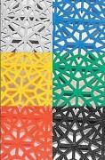 Caillebotis polypropylène - Dimensions 30 x 30 - Epaisseur 14 mm - Antidérapant