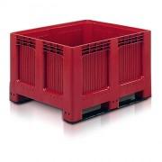 Caisse à fond plein - Dim: L.1200 x lg.1000 x H.750 mm - Capacité : 543 L - Résistance en charge 450 kg